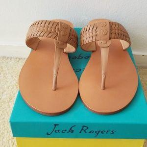 NIB jack Rogers tinsley demo wedge sandals